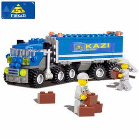 Bloco De Montar Caminhão 163 Peças Estilo Lego - No Brasil