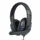 Fone Gamer Headset Áudio 2.0 Usb Pc Microfone Notebook