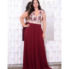 Vestido Marsala/madrinha/casamento/vestido Plus Size