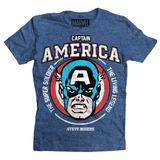 Playera The Living Legend Capitan America B Mascara De Latex