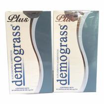 2 Piezas- Demograss Plus 30 Caps Producto De Origen Natural