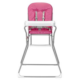 Cadeira De Refeição Cadeirão Cadeirinha Rosa Suporta15kg