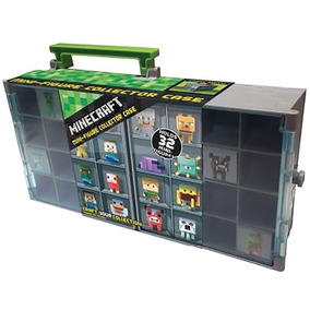 Minecraft Maleta Para Figuras - Mattel