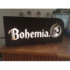 Letrero Cerveza Bohemia