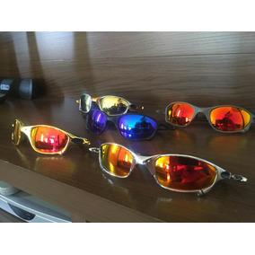 64c1452e50167 Cordõ Para Óculos - Óculos De Sol Oakley Juliet no Mercado Livre Brasil