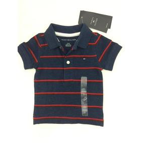 Camisa Polo Tommy Hilfiger Bebê 3 A 6 Meses Original Eua