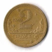 Moedas 2 Cruzeiro Série 1942 A 1956 Consulte A Data Desejada