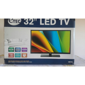 Televisor Led 32 Full Hd Hdmi Usb Nuevo Marca Etec