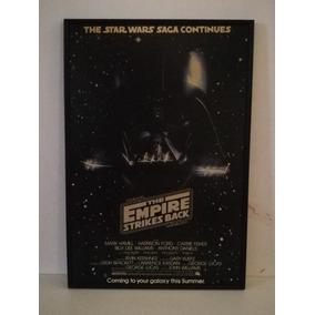 Poster Star Wars The Empire 1980 Original (darth Vader)