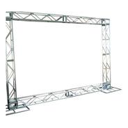 Treliças Kit Trave Box Truss Q20 Dj Aço 2,5x3m Backdrop