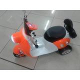 Moto Tipo Scooter A Batería