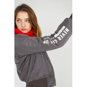 Campera Mujer Sweet Bomber Essential Oficial