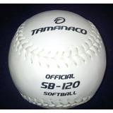 Pelotas De Softball Sb-120 Tamanaco (nuevo Diseño)