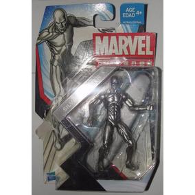 Marvel Universe Surfista-prateado Cromado Raríssimo!