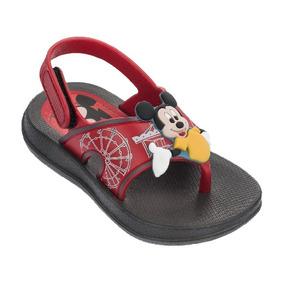 Sandalias Mickey Mouse Niño De La Talla 19 A La 25