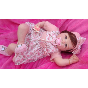 Bebê Reborn Boneca Linda Parece Bebê De Verdade