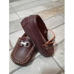 Zapatos Bebe Tipo Mocasín Con Hebilla Marca Moni-moni