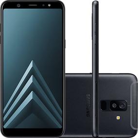 Celular Samsung Galaxy A6 Plus Preto Tela Infinita De 6