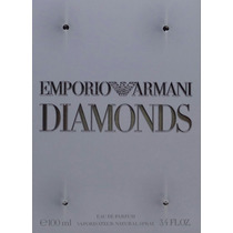 Perfume Emporio Armani Diamonds Edp 100ml Original