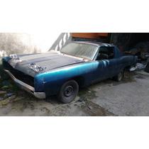 Ford Galaxi Coupê El Camino 1969 Hotrood V8 Aut Mustang Mave