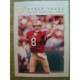 Steve Young San Francisco 49ers Card Topps Gallery 2000