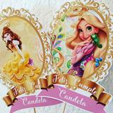 Big Toppers Para Centros De Mesa Disney Princesas