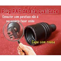 02 Plug Paf - Philips - Telefunken - Duas Peças