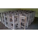 Mesas E Cadeiras De Paletes Rustica Para Restaurantes