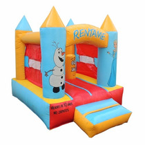 Brincolin Inflable Castillo Mini Frozen 2x2.5m
