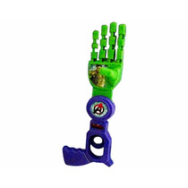 Braço Biônico Avengers Mão Articulada Brinquedo Hulk Thor