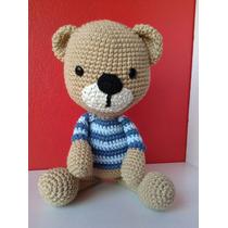 Oso Amigurumi 30 Cm. Muñeco Tejido Crochet Amigurumis