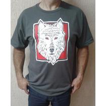 Camiseta - Estampa Exclusiva - Lobo Branco - White Wolf