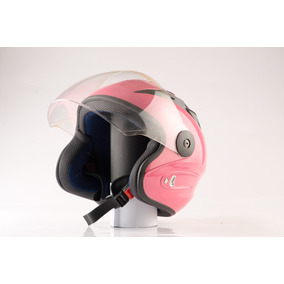Casco De Moto Mujer Semi Integral Evolution Edge 13 Original
