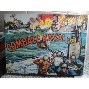 Antiguo Juego De Mesa Combate Naval 1970 Guau Vintage