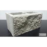 Bloques Ladrillo De Hormigon Cemento Simil Piedra 19x19x39