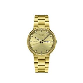 Relógio Mido Dourado Commander Automático M014.430.33.021.80