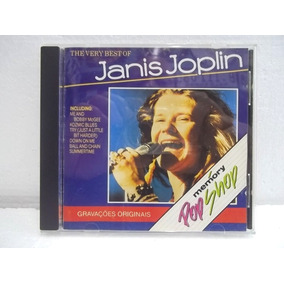 Janis Joplin The Very Best Of Cd Original Impecável