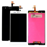 Tela Display Lcd Touch Sony Xperia T2 Ultra D5322 D5303 Fita