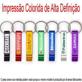 50 Chaveiros Abridor Personalizado - Impr. Colorida Promoção
