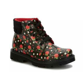 Bota Ankle Boot Niña Negro 2497105