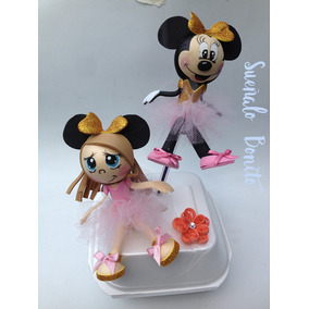 Fofuchas (lapiz/pluma) Minnie Mouse
