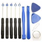 Juego X11 Herramientas Destornilladores P/desarmar Celulares