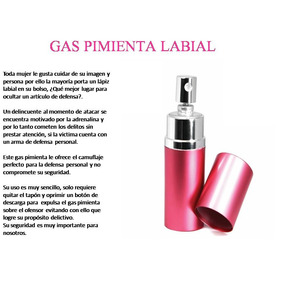 Gas Pimienta Mujer Simula Perfume - X Mayor Lote 10 Unidades