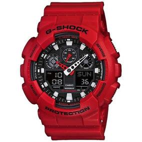 27122d6dbbe Casio G Shock Vermelho - Joias e Relógios no Mercado Livre Brasil