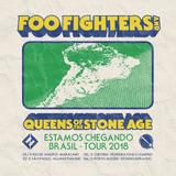 Par De Ingressos - Show Foo Fighters & Qotsa Age Sp 27/02