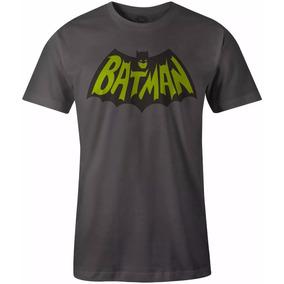 Playera Dc Comics Batman Vintage Retro Logo