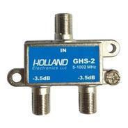 Derivador Splitter Holland Ghs-2 Coaxil Tv Conector