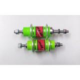 Cubo Viper Roletado 36 Furos Alumínio Rosca - Verde Neon