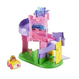 Disney Princess Pista De Castillo De Bella Fisher-price Lit