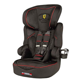 Cadeira Poltrona De Carro Bebê Ferrari Black De 9 À 36kgs